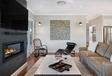 Hunter Valley Accommodation - Jindalee Estate- Pokolbin - Living Room