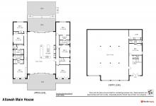 Hunter Valley Accommodation - Allawah Estate 7 Bedrooms - Lovedale Hunter Valley - Floor Plan