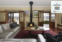 Hunter Valley Accommodation - Binbilla Vineyard Estate - Broke - Living Room