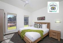 Hunter Valley Accommodation - Ironbark Villa 4 - Pokolbin - Bedroom