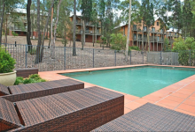 Hunter Valley Accommodation - Villa Cabernet - Pokolbin - Swimming Pool