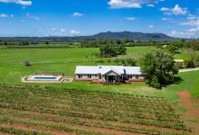Hunter Valley Accommodation - Arenridge - Broke - Vineyard Views