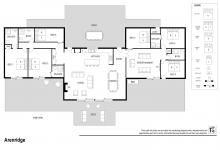 Hunter Valley Accommodation - Arenridge - Broke - Floor Plan