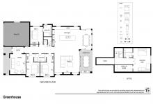 Hunter Valley Accommodation - The Greenhouse - Rothbury - Floor Plan
