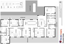 Hunter Valley Accommodation - Rosedale Estate - Lovedale - Floor Plan