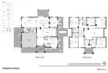 Hunter Valley Accommodation - Hollyford House - Pokolbin - Floor Plan