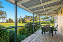 Hunter Valley Accommodation - Peppertree Cottage at The Grange - Rothbury - Outdoor Dining