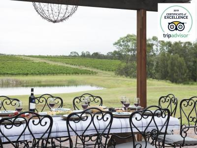 Hunter Valley Accommodation - Vico Monti - Pokolbin - Outdoor Dining