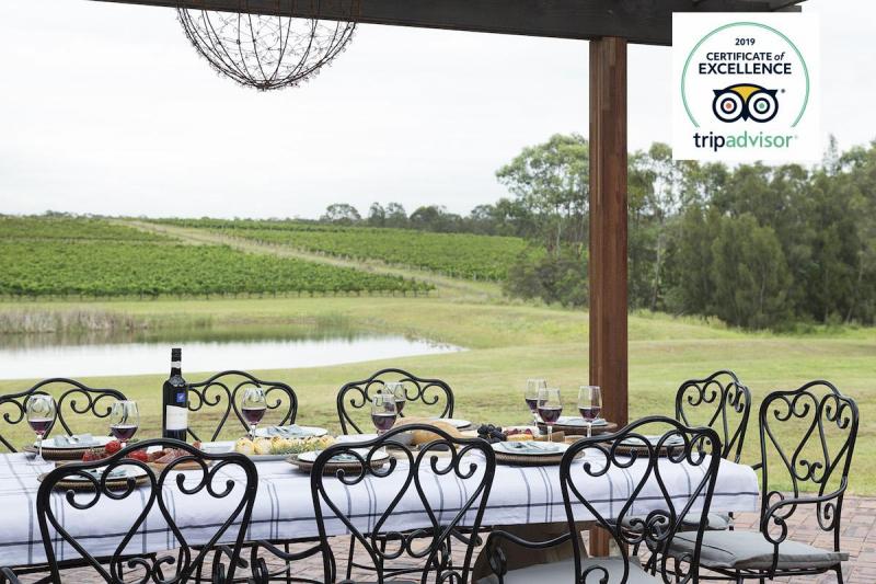 Hunter Valley Accommodation - Vico Monti - Pokolbin - Outdoor Dining
