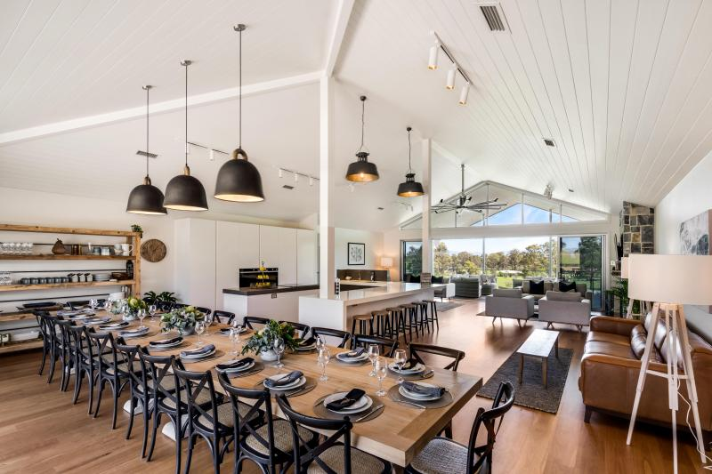 Hunter Valley Accommodation - Allawah Estate - Lovedale Hunter Valley - Dining