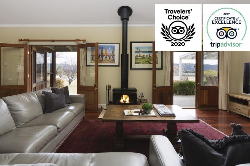 Hunter Valley Accommodation - Binbilla Vineyard Estate - Broke - Sitting Room